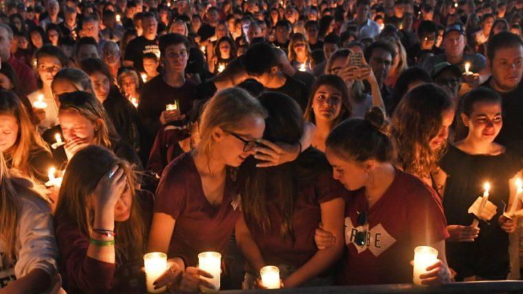 Parkland Florida Candlelight Vigil
