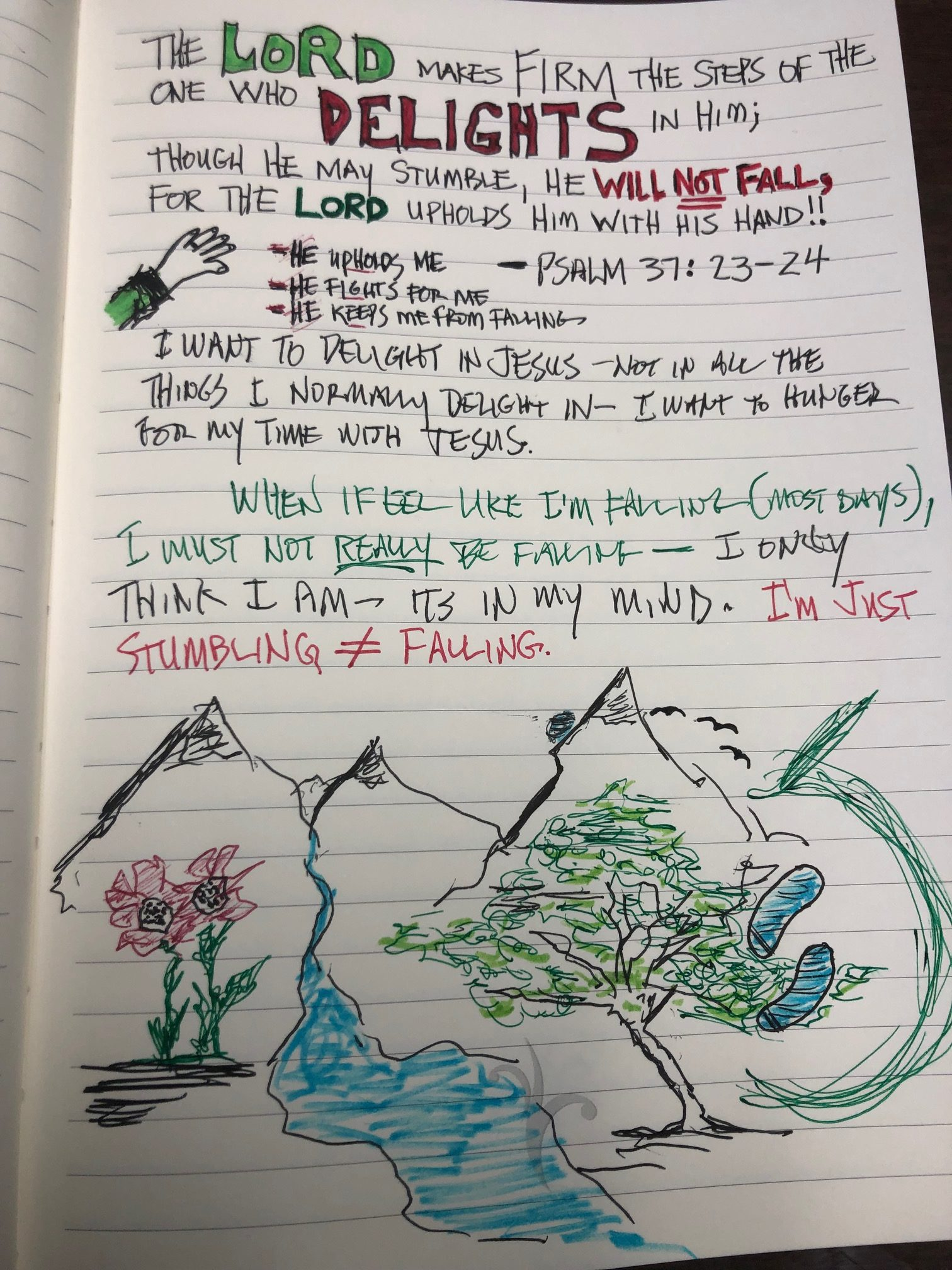 scripture notbook